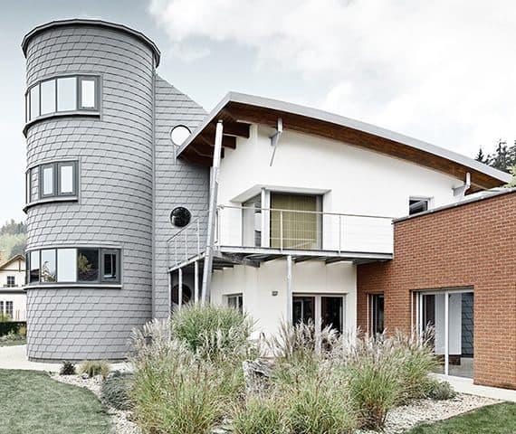 Fassade Referenz - Dach Dachpower Grödig