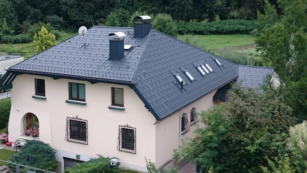 Referenzen Dachpower Grödig Salzburg, Einfamilienhaus Salzburg